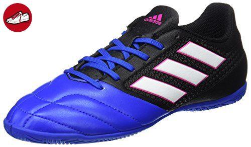 Adidas Herren Ace 17.4 in für Fußballtrainingsschuhe, Schwarz (Negbas/Ftwbla/Azul), 40 EU - Adidas schuhe (*Partner-Link)