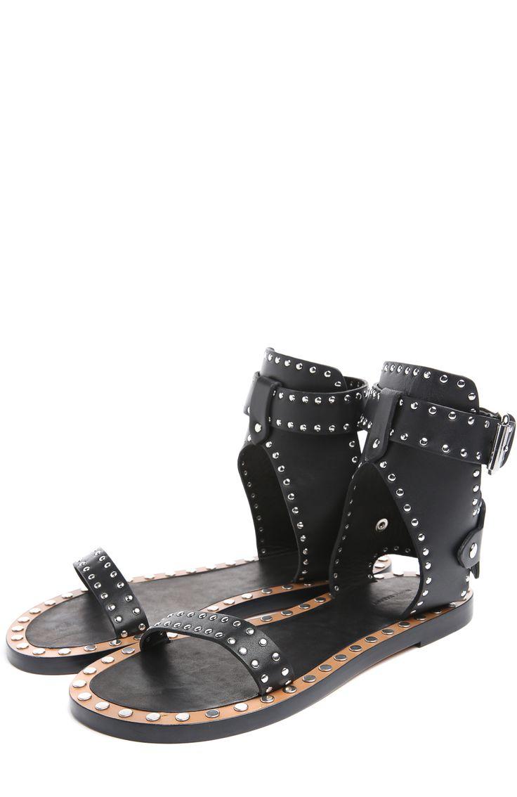 Женские черные сандалии Isabel Marant, арт. 15E005S/JANDERS купить в ЦУМ   Фото №2