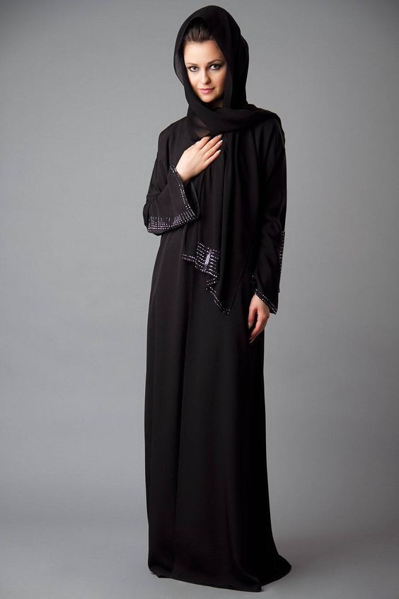#embroided #muslimahfashion #Ramadan http://www.styleglow.com/latest-abaya-style-designs-in-pak…/