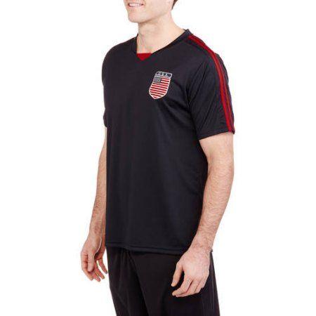 Big Men's USA Soccer Jersey, Size: 5XL, Blue