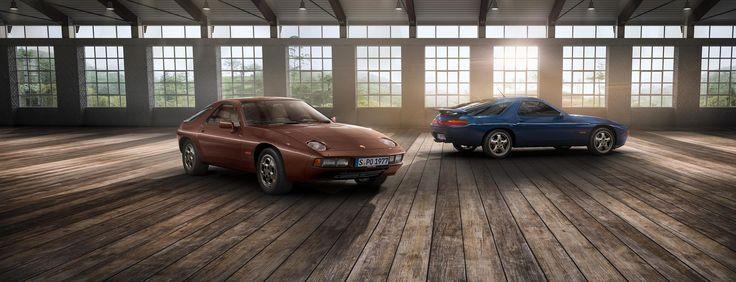 Porsche Classic celebra 40 anni di Porsche 928. - Lanciato nel 1977 e ancora oggi in viaggio.