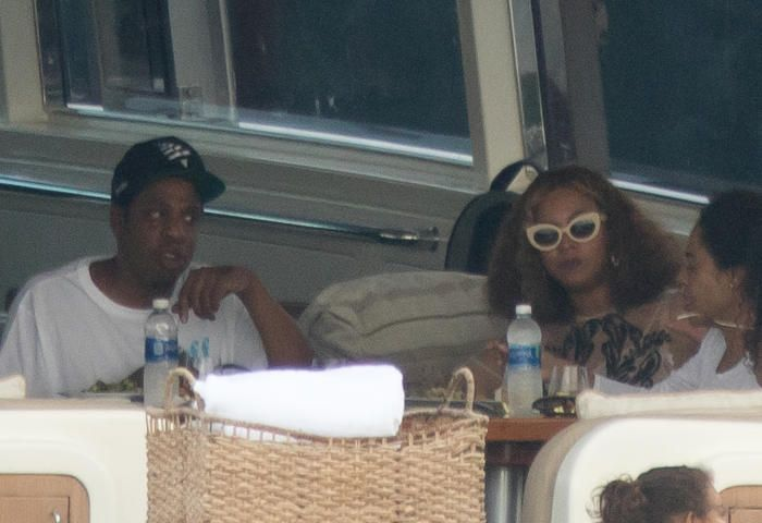 JAY-Z, Beyonce and Blue Ivy step out for a yacht cruise in Miami  After a string of performances around the Gulf Coast region over the past week, JAY-Z took a break from work for some R&R with his family. On Monday Nov. 13, the Roc Nation exec was spotted on a chartered Petrus yacht in Miami with Beyonce and their 5-year-old daughter, Blue Ivy. The high-profile fam spent about two hours sailing around the bay and sharing some lunch with friends on the boat, according to the Daily Mail. The…