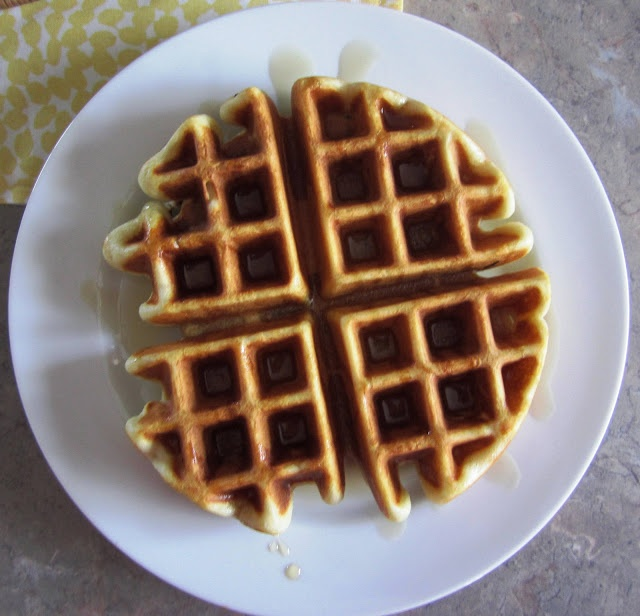 Light and Airy Waffle Batter Recipe