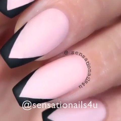 Wunderschönes Stiletto-Nageldesign mit Video-Tutorial – Nägel