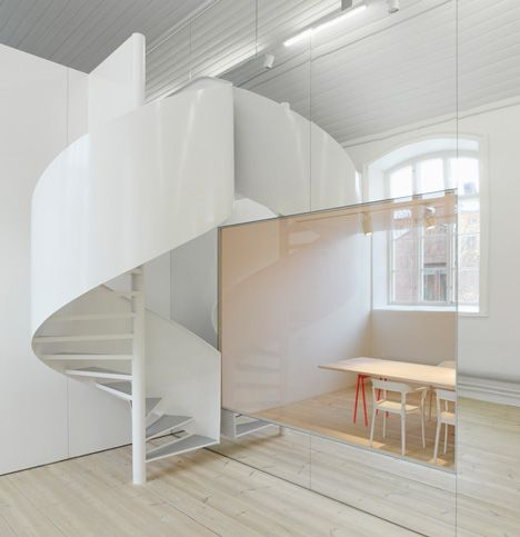 Swedish Design Duo Elding Oscarson Have Completed This Office For Design  Consultants No Picnic In Stockholm