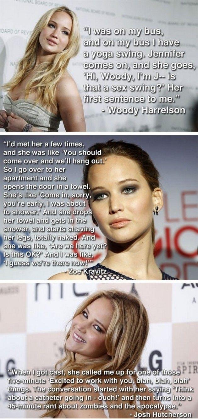 Celebrity Funnies (20 Pics) Jennifer Lawrence