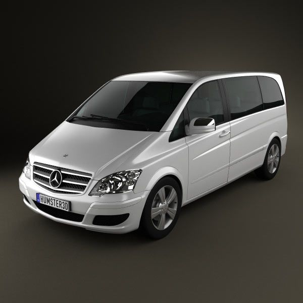 Mercedes-Benz Viano Compact 3d model from humster3d.com. Price: $75