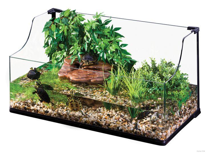 Exo Terra : Turtle Terrarium Large / Aquatic Habitat