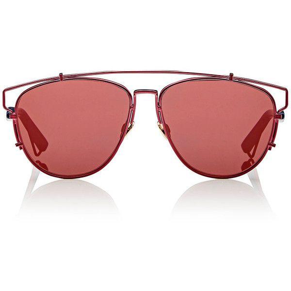 "Dior Women's ""Dior Technologic"" Sunglasses (36.915 RUB) ❤ liked on Polyvore featuring accessories, eyewear, sunglasses, multi, mirrored aviators, mirrored lens aviators, matte sunglasses, mirrored lens sunglasses and christian dior sunglasses"