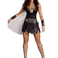 el traje de guerrero griego Halloween mujeres - EUR € 29.99