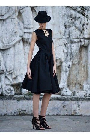 HEAVY COTTON DRESS - Rhea Costa-Shop
