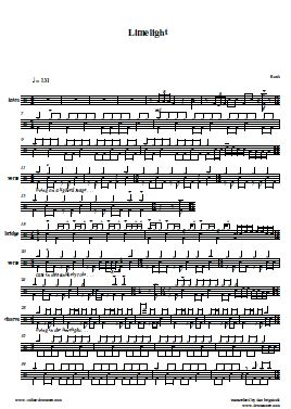 Drum : drum tabs zombie cranberries Drum Tabs Zombie Cranberries ...