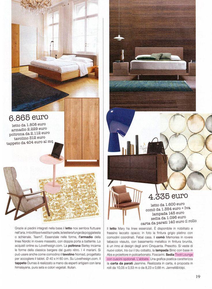 L'Abbate Italia: VERO casa 06.2016. Tivoli lounge > design Mikko Laakkonen.