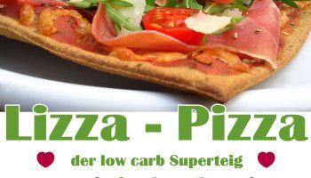 Lizza Pizza - low carb Superteig getestet