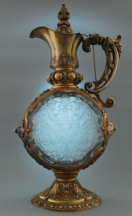 Antique Perfume Bottle - Carl Weihupt - Munich 1895/96