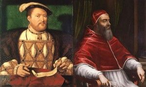"""On 7th March 1530 Pope Clement VII issued a bull threatening Henry VIII with excommunication if he proceeded to marry again.  The Pope had been informed by Queen Catherine of Aragon that her husband had """"boasted"""" that he would take a second wife """"notwithstanding the inhibition and mandate against him"""", so the Pope was acting against this rebellious king."""
