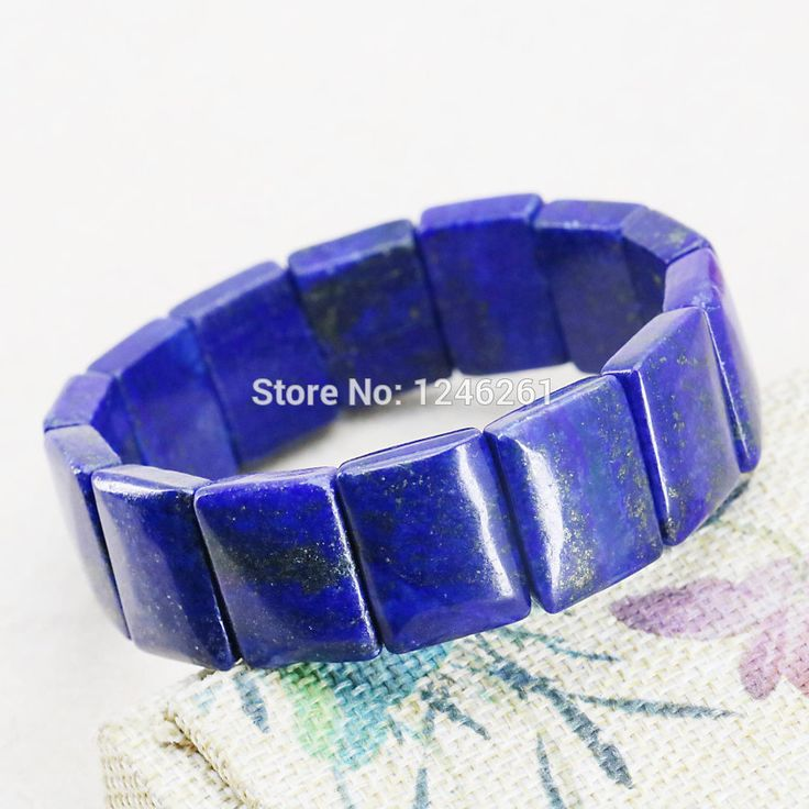 15X20mm Hot Sale Accessories Lapis lazuli Square Bracelet Crafts Beads Jasper Jade Stone Jewelry Making Design Girl Gift 15inch