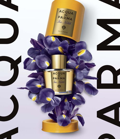 Iris Nobile by Acqua di Parma - Lovely fragrance advertising!
