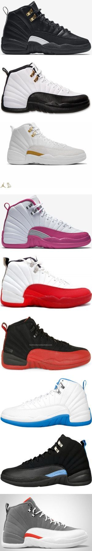 Jordan 12s by shudiamond on Polyvore featuring shoes, sneakers, jordans, 12s, air jordan 12 and jordan