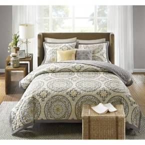 our current bed set just need to get some bedroom furniture to complete the look