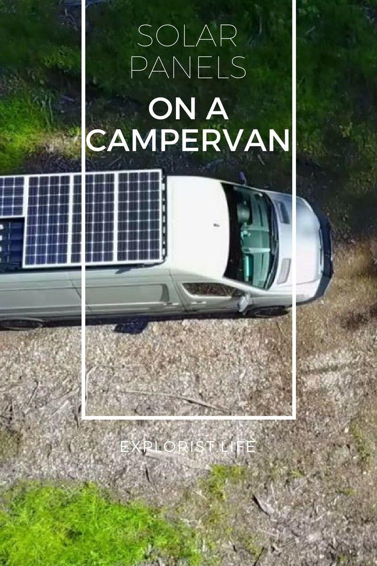 How To Design And Install Solar On A Camper Van Solar Panels Solar Installation Solar Heating