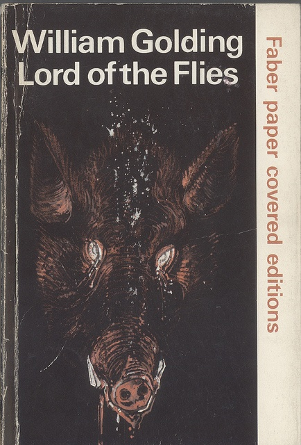 an analysis of william goldings book the lord of the flies Lord of the flies, the masterpiece that launched william golding's career, has  never lost its  lord of the flies: can you judge a book by its cover  the  guardian is editorially independent, meaning we set our own agenda.