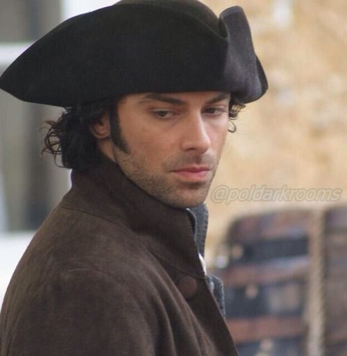 Poldark - Aidan Turner. I NEED THIS NOW!!!!! But it comes to PBS in 2015 at the earliest (maybe 2016, because the BBC gets all the shows first. Ugh.)
