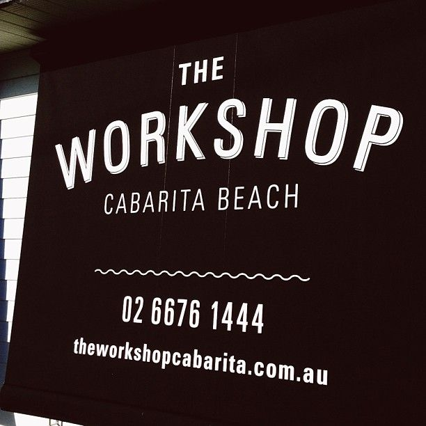 Our New Awnings @ The Workshop Cabarita