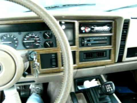 Jeep Cherokee diesel conversion with Mercedes OM617 engine