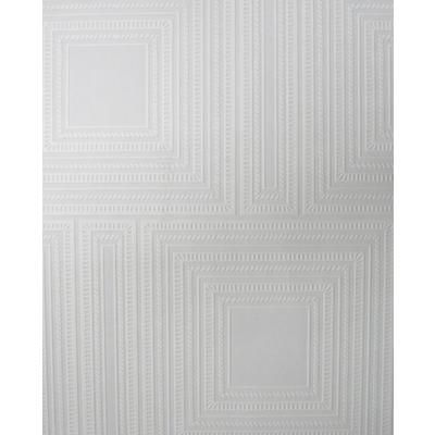 http://www.homedepot.ca/product/squares-panel-white-paintable-wallpaper/898174