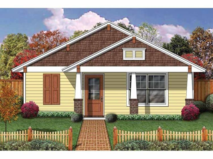62 best House Plans images on Pinterest | Small house plans ...