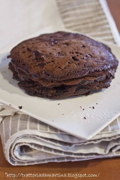 Pancake al cioccolato di Martha Stewart