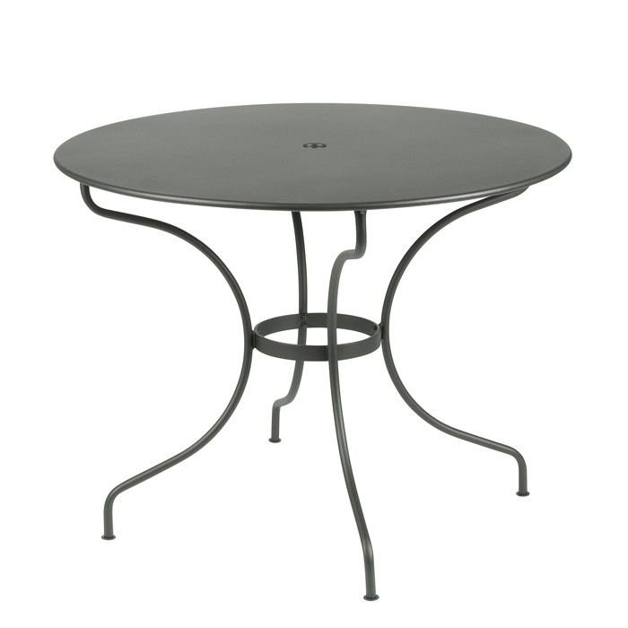 Fermob Opera Runder Tisch 96 Cm In 2020 Eleganter Tisch