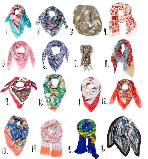20 maneras de usar un pañuelo