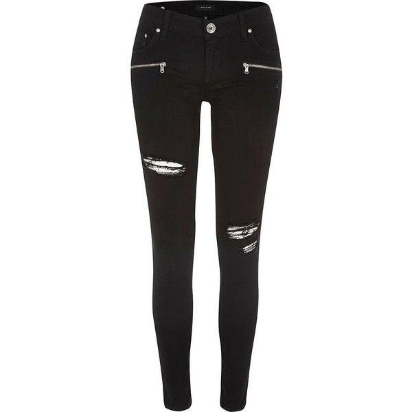 Best 20  Black skinny jeans women ideas on Pinterest | Black ...