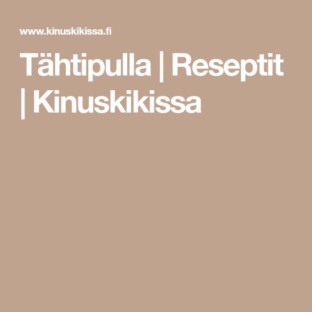 Tähtipulla   Reseptit   Kinuskikissa