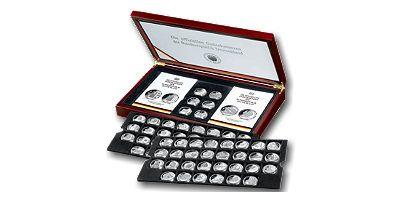 10-Euro-Silber-Gedenkmünzen 2002-2012 komplett st
