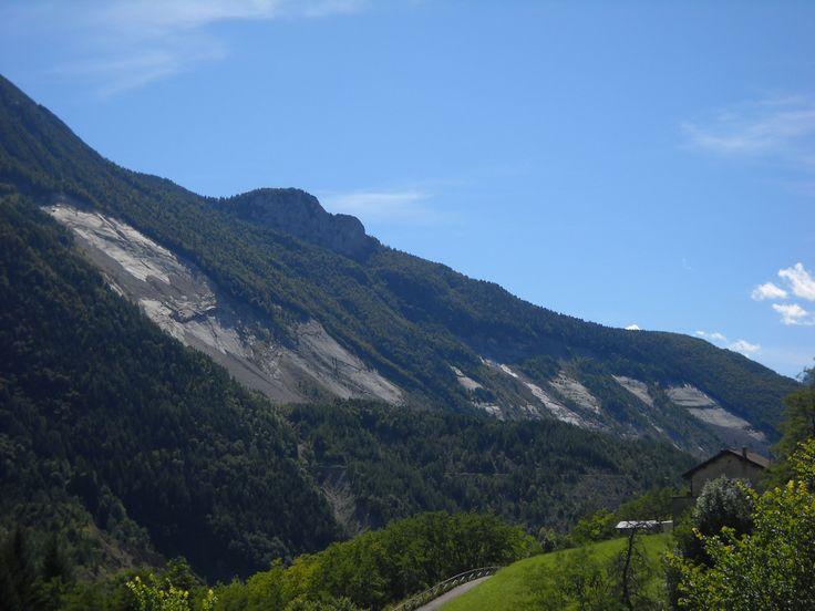Monte Toc diga del Vajont