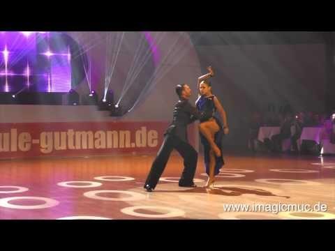 Stefano Di Filippo& Dasha Rumba Euro Dance Festival Mittwoch 180215