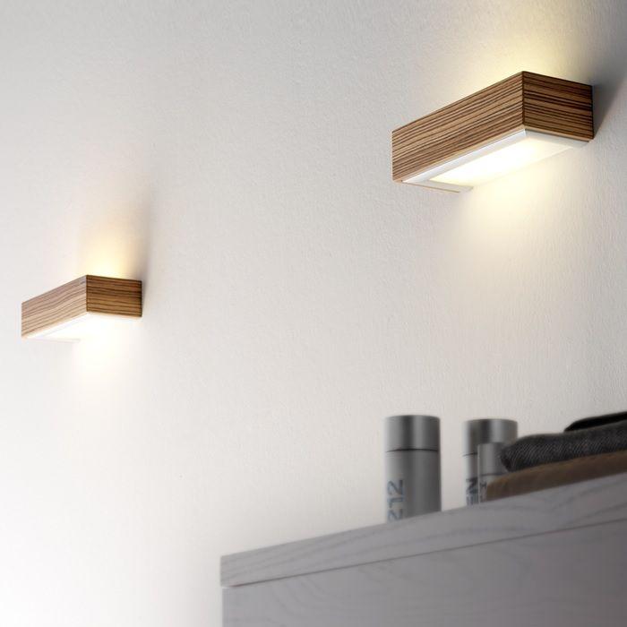 Aplique De Pared Hecho De Madera Wall Braquet Made Of Wood Olebyfm Box Lampara Aplique Iluminacion Apliques De Pared Lampara De Pared Lamparas De Pared