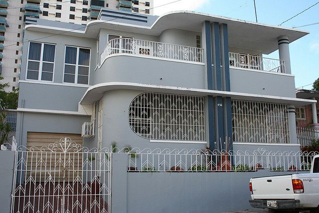 15 best images about art deco facades gardens etc on for Streamline moderne house plans