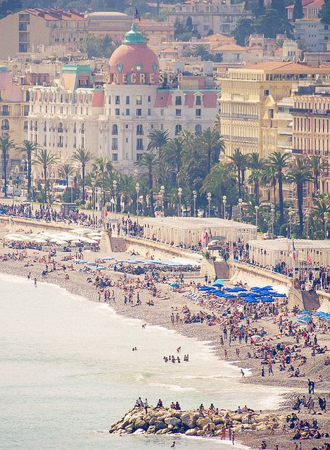 Plage de Nice,France -- one day I will retire here for at least a season.