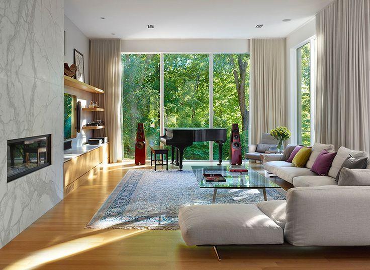 Modern Living Room By Richard Librach Architect Inc Via Houzz