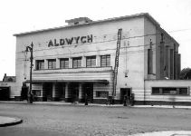 I wasn't born, but my parents remember this. The Aldwych cinema - where Safeways and now Aldi stand on Paisley Rd West, Glasgow.