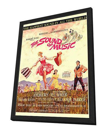 Take a look at this The Sound of Music Framed Movie Poster by Backlot Art on #zulily today!