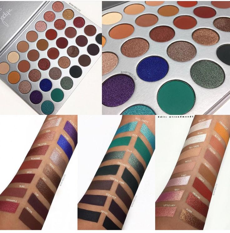 Morphe x The New Jaclyn Hill Eyeshadow Palette Swatches! June 21, 2017  #Beauty #Beautyinthebag