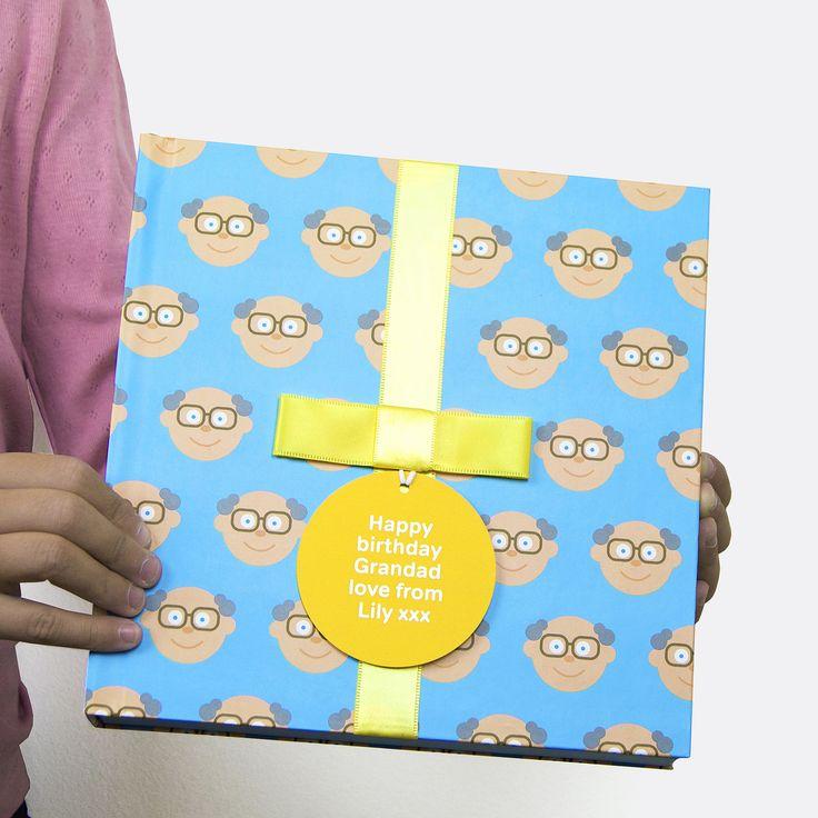 Personalised Grandad Gift Book with Socks  Cute gift for grandpa, personalised gift card, book and socks for Granda
