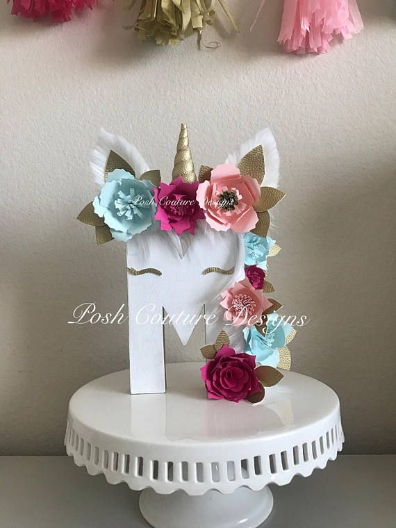 Unicorn Letters/ Unicorn Photo Prop/ Unicorn Centerpiece/ Unicorn Decoration/ Unicorn Birthday/ Unicorn Bridal Shower/ Unicorn party/ Magical Unicorn ~~~~~~Only Seen At Posh Couture Designs~~~~~   ~~~~~~~~Designed Exclusively ~~~~~~  By Posh Couture Designs  How beautiful & magical is this Unicorn Letter?  These letters will add that magical feel to your event.  Each letter is beautifully handcrafted with high quality paint, soft faux fur and soft faux l...