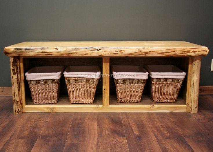 Cedar Lake Cabin Log Foot Bench. Best 25  Rustic bedroom benches ideas on Pinterest   Rustic