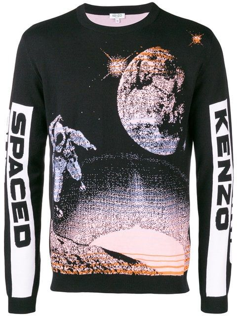 95e903ff Shop Kenzo Spaced Out sweater | Cool Clothes I Can't Afford in 2019 ...